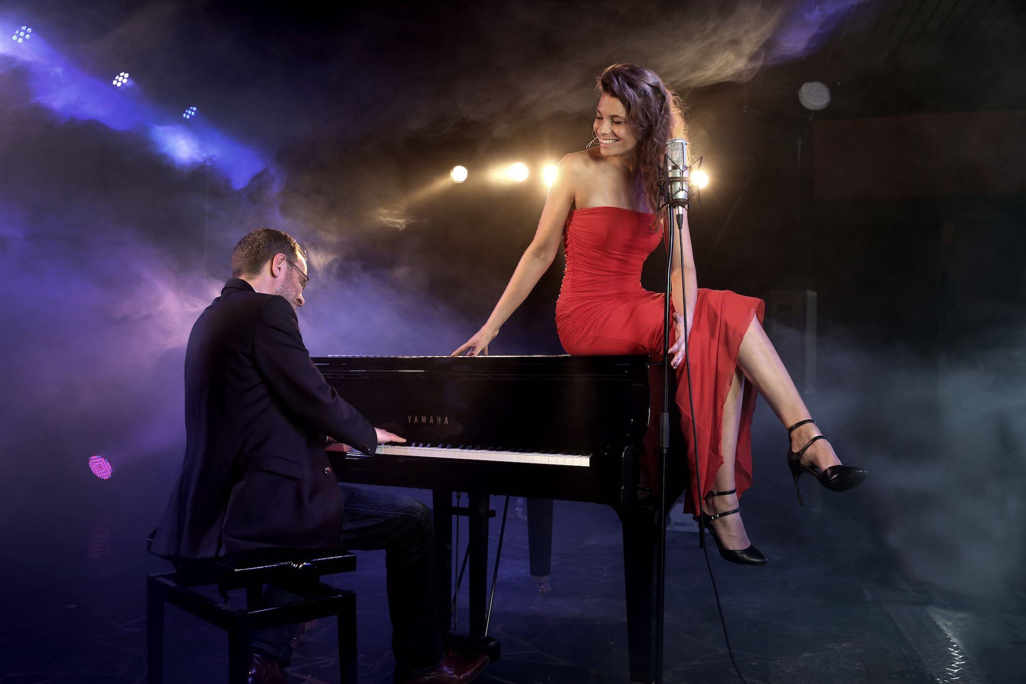 Lady Bird - duo van zangeres & pianist